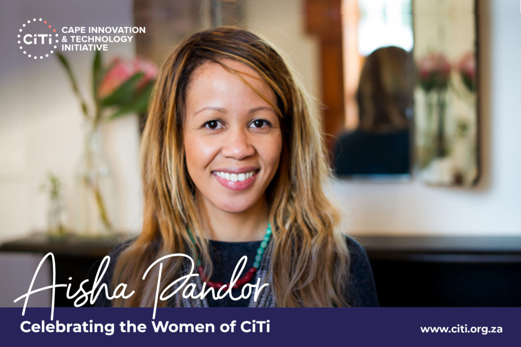 Celebrating the Women of CiTi: Aisha Pandor making an impact as chairperson of the BioCiTi Lab's board 1