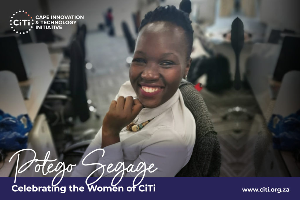 Young women in tech: Potego Segage 1