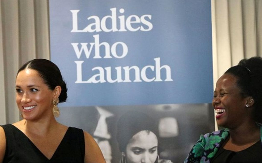 Duchess of Sussex meets local female entrepreneurs 6